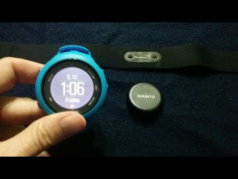 סרטון #2: סונטו אמביט 3 - צימוד מד הדופק